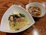 秋鮭と香りしめじの和風スープチャーハン 720円