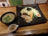 寒鰤と根菜の塩つけ麺 とろろ醤油添え 980円