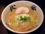 塩かけそば(あっさり浅蜊スープ仕立て) 750円