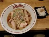 地鶏と鯛煮干の冷や冷や 〜柚子風味〜 800円