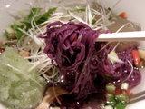 甘夏のかわり麺 麺のアップ
