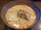 冷やし辛唐豆乳麺 850円
