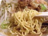 さかな梵天(汐味) 細麺のアップ