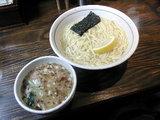 平打つけ麺(濃厚塩) 750円