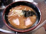 味噌ラーメン400円。