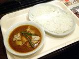 チキンカレー1100円→550円