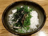 雑炊用の御飯 100円