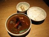 6種野菜の黒スープカレー 650円