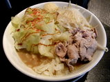 しちゅー梵天 太麺 並 830円
