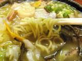 チャンポン 麺のアップ