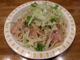 レタスと玉子とベーコン 560円 + 大盛 50円