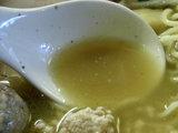 鶏そば スープのアップ