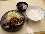 豚テキ定食 680円