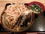 きんぴら野菜丼 500円