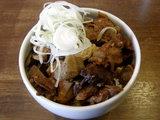 牛スジ丼 300円