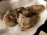 牡蠣の潮つけ麺 焙られた牡蠣