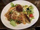 夏野菜の冷し担担麺 850円