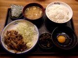豚肉生姜焼き 500円