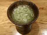 抹茶魚介スープ 100円