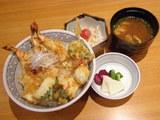 辛口 天丼 840円