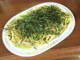 梅のり 醤油味 ジャンボ(大盛) 700円