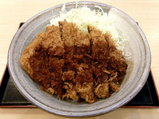 牛カツ丼 619円