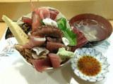 海鮮丼 並盛 600円
