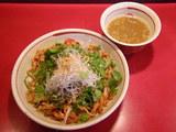 香草と川海老の油そば(スープ付) 800円