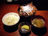 豚丼[並]1100円 ハーフ&ハーフ