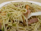 バジリコ 麺のアップ