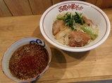 地鶏と鯖の味噌冷や冷や 〜生姜の香り〜 800円