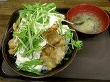 タルタルチキン丼