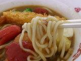夢のラーメン 麺のアップ