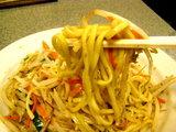 炒麺 アップ画像