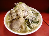豚入りラーメン 600円+野菜ニンニク