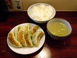 元祖餃子定食 並盛 650円