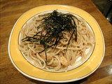 タラコ(タラコ・海老・大葉・マッシュルーム入り)560円+大盛50円