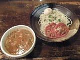 The トマトつけめん 780円 + 味玉 100円