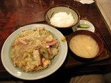 皿うどん定食 950円