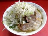 ラーメン 600円 + 野菜 ニンニク