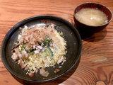 ゴーヤと豚の塩炒めチャーハン 620円