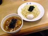 きんやつけめん 580円 + 味付玉子 by クーポン券