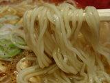 香港ナイト 麺のアップ
