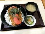 明太子かつ丼 720円