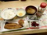 日替わり定食A「さばの塩焼き」 500円