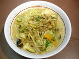充実野菜炒めラーメン 900円