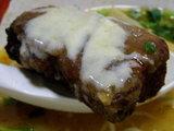北海道チーズ角煮味噌らーめん 角煮のアップ