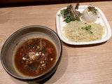 001<味噌カレーつけ麺> 950円