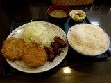 ミックス定食 700円