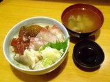 三色丼 大盛 1000円